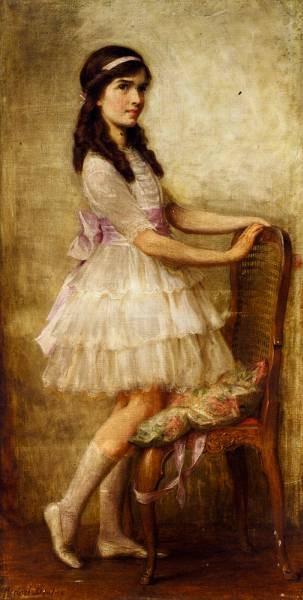 James Portrait Of Miss Barbara De Selincourt